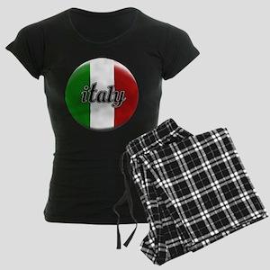 Italy Logo Women's Dark Pajamas