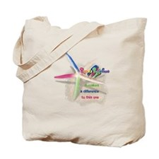 It Makes a Difference Tote Bag
