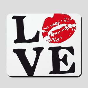 love kiss Mousepad