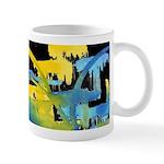Atom Sea #12 black Mug