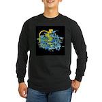 Atom Sea #12 Long Sleeve Dark T-Shirt