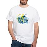 Atom Sea #12 White T-Shirt