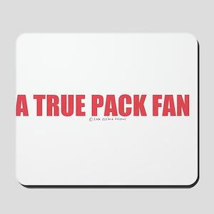 A True Pack Fan Mousepad