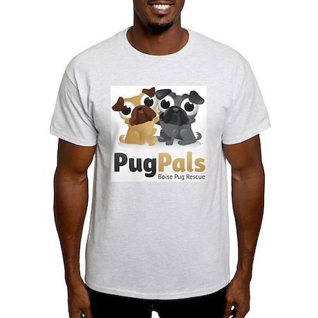Pug Pals Logo Light T-Shirt