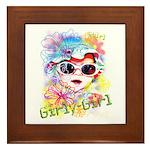 MM GirlyGirl Framed Tile