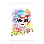 MM GirlyGirl Mini Poster Print