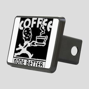 Black Coffe Rectangular Hitch Cover
