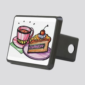 Cake and Coffee Rectangular Hitch Cover