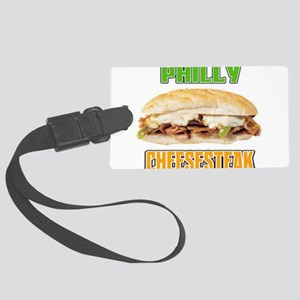 Philly Cheesesteak Large Luggage Tag