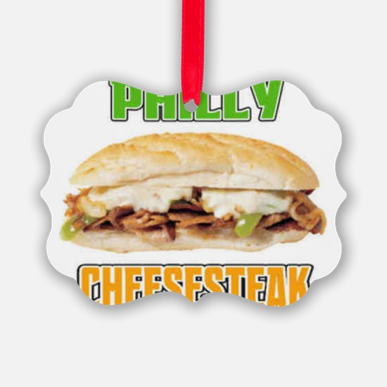 Philly Cheesesteak Ornament