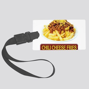 Chilli Cheese Fries Large Luggage Tag