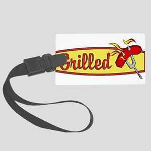 Grilled Large Luggage Tag