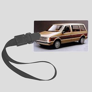 1984 Dodge Caravan Large Luggage Tag