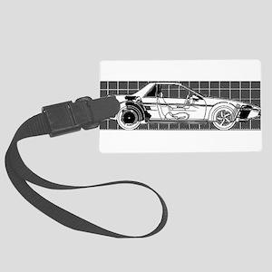 Pontiac Fiero Large Luggage Tag