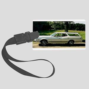 1973_Ford_Gran_Torino Large Luggage Tag