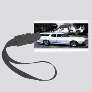 1972 Ford Torino Squire Large Luggage Tag