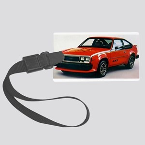 RED AMX Large Luggage Tag