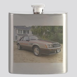 Mustang Pace Car Flask