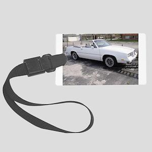 1984 Cutlass Convertible Large Luggage Tag