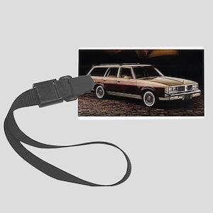 1981 Cutlass Crusier Large Luggage Tag