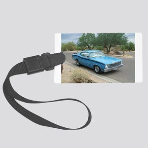 Plymouth Duster 1973 Large Luggage Tag