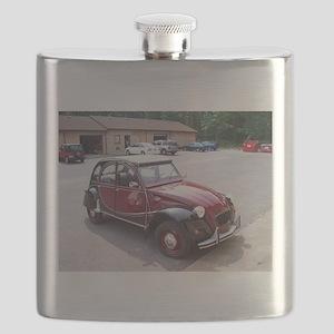 Red 2CV Flask
