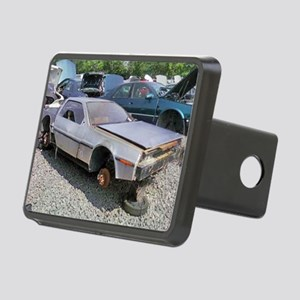 Junkyard_Delorean Rectangular Hitch Cover