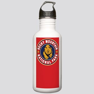 Rocky Mountain Red Circle Stainless Water Bottle 1