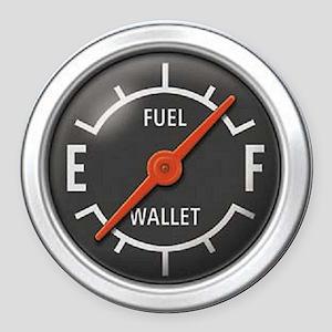 Gas Gauge Round Car Magnet