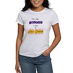 Who you calling Godless? Women's T-Shirt