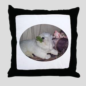Binky Babys Throw Pillow