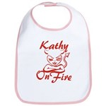 Kathy On Fire Bib