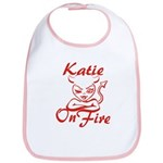 Katie On Fire Bib
