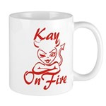 Kay On Fire Mug