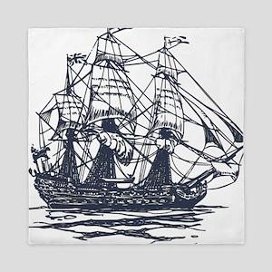 Nautical Ship Queen Duvet
