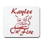 Kaylee On Fire Mousepad