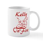 Kelly On Fire Mug