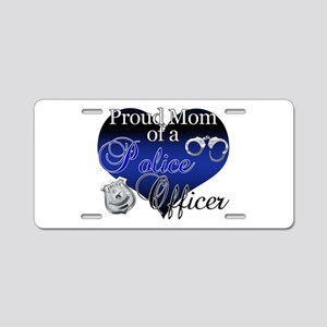 Police Mom Aluminum License Plate