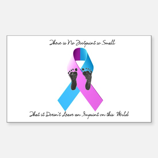 Pregnancy and Infant Loss Awareness Decal