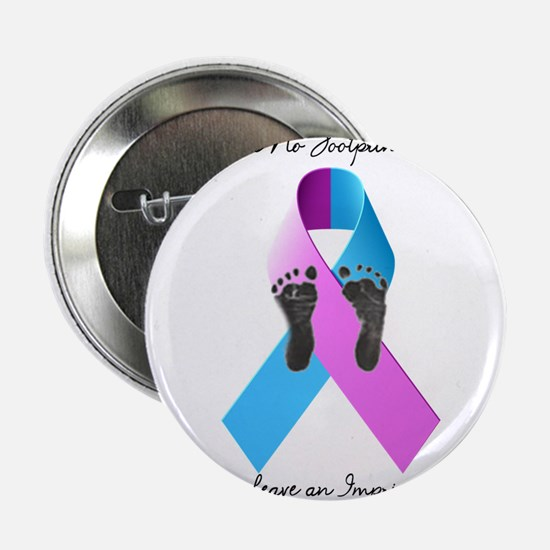 """Pregnancy and Infant Loss Awareness 2.25"""" Button"""