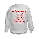 Kimberley On Fire Kids Sweatshirt