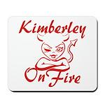 Kimberley On Fire Mousepad