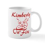 Kimberly On Fire Mug