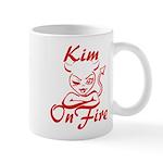 Kim On Fire Mug