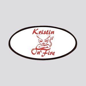 Kristin On Fire Patches