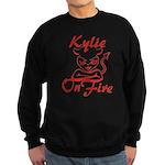 Kylie On Fire Sweatshirt (dark)