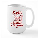Kylie On Fire Large Mug