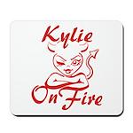 Kylie On Fire Mousepad