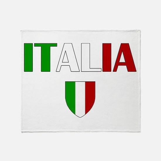 Italia Logo Throw Blanket