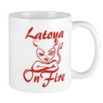 Latoya On Fire Mug